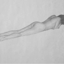 Figure on Bed